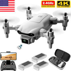 2021 New RC Drone 4k HD Wide Angle Camera WIFI FPV Drone Dual Camera Quadcopter1 $39.60