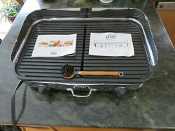 All Clad TG700262 Electric Indoor Grill w X Large Prem Nonstick 20 x 13 Surface $200.00