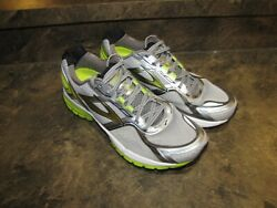 BROOKS GHOST 8 SILVER LIME MENS 12 EUC SUPERCLEAN RUNNERS see pics details $30.00