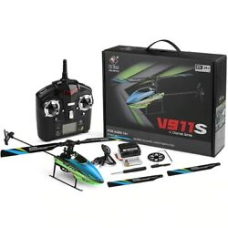 Original WLToys V911s 2.4Ghz 4CH Single Blade Propellor Gyro Mini RC Helicopters $94.56