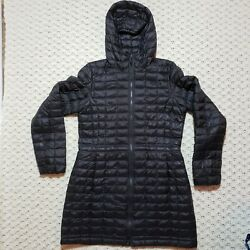 The North Face Thermoball Parka Long Puffer Quilted Coat Jacket Women#x27;s Medium M $59.97