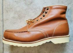 Sears Boots 10 1 2 D Lace Up Brown Leather Work Boots Motorcycle Hunting B201 $69.99
