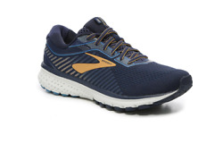 Brooks Ghost 12 Mens Shoe Navy Gold multiple sizes New In Box SIZE 8 15 $89.99