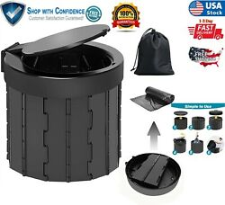 Portable Travel Toilet Camping Hiking Non Electric Waterless Composting Commode $64.46