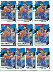 2020 21 Donruss ISAIAH STEWART Rated Rookie LOT x10 Cards Pistons RC No. 233 $34.99