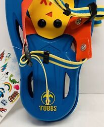 """Brand New TUBBS Snowshoes Snowflake 14"""" Children Age 3 6 $44.99"""