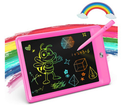 Colorful color board writing tablet for girls for ages 3 6 Rose Red $19.45