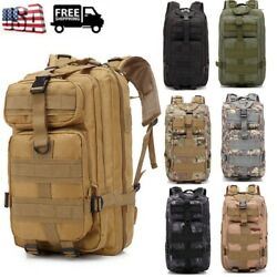 US 25L Molle Outdoor Military Tactical Bag Camping Hiking Trekking Backpack New $23.99