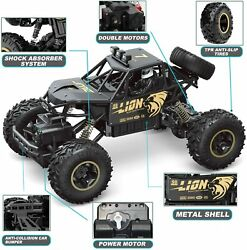 NEW Electric RC Cars 4WD Monster Truck Off Road Vehicle Remote Control Crawler $25.60