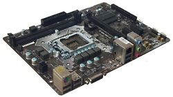 FOR PARTS DAMAGED MSI H110M PRO D Motherboard LGA 1151 Micro ATX DDR4 $24.99