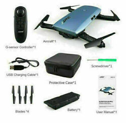 H47 FPV Recorder 720P Camera HD WIFI Fold Control RC Selfie Quadcopter Toy Drone $34.99