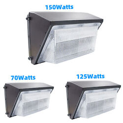 Commercial LED Wall Pack Light 70W 75W 125W 150W Outdoor Flood Light 5500K Color