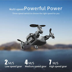 KY905 Mini Drone Foldable Quadcopter One Key Return Wifi FPV RC Helicopter $27.59
