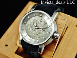 Invicta Men#x27;s S1 YAKUZA Dragon AUTOMATIC NH35A SILVER DIAL Black amp; Red SS Watch $104.89