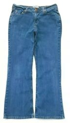 Levis Signature Womens At Waist Boot Cut Jeans Size 14 Short $10.25