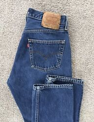 Vtg USA Made Levi's 501 For Women High Rise Button Fly Jeans 32x32 30x30 Actual $99.00