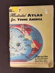 Hammond#x27;s Illustrated Atlas for Young America Maps $4.99