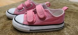 Converse All Star Toddler Girl Pink Shoes Sneakers Size 6 $20.00
