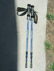 Set of Expedition Trail Tek Trekking Poles 110 135CM $21.99