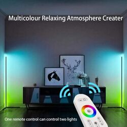 RGB Floor Lamp LED Color Changing Linear Standing Corner Light Remote Control $106.04