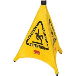 Rubbermaid Commercial Safety Sign 9S0000YWCT 9S0000YWCT 1 Each