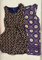 Lot of 2 Cute Dress Size Small Excellent Condition