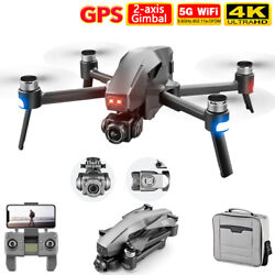 4DRC M1 PRO GPS RC Drone Camera 4K 5G Wifi 2 axis Brushless Quadcopter 2021 NEW $228.00