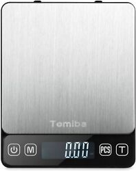Digital Kitchen Food Scale 0.01oz 0.1g 3000g Portable Touch Pocket Scale $9.99