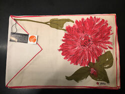 Vera Mid Century Modern Table Setting Placemats Cloth Vintage set of 4. MCM $65.00