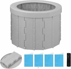 Portable Travel Toilet Camping Hiking Non Electric Waterless Composting Commode $45.98