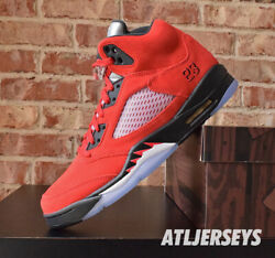 Nike Air Jordan 5 Retro Raging Bull Red Black DD0587 600 Size $219.99