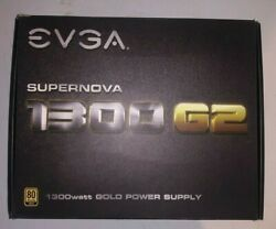 EVGA SuperNOVA 1300 G2 1300W ATX Power Supply PSU 80 Plus Gold with ALL cables $355.00