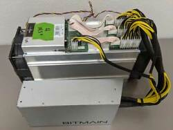 Antminer S9 w Bitmain Power Supply TESTED amp; HASHING AT FULL CAPACITY USA SELLER $620.00