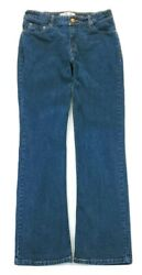 Levis Signature Womens At Waist Boot Cut Jeans Size 10 Short $10.25