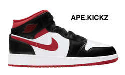 Nike Air Jordan 1 Mid quot;Gym Red Black Whitequot; Mens Sizes 10 amp; 11.5 RARE $164.90