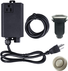 Garbage Disposal Air Switch Kit Sink Top Food and Waste Disposal Safety Security $30.99