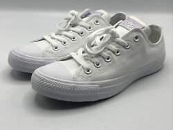 Converse OX All Star Womens Shoes Size 8 All White 1U647F New in Box $45.95