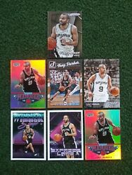 Tony Parker Lot 🔥MINT🔥 ✔ out all 12 of the CLOSE UP PICS 👀 $1.00