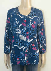 Women's Floral Long Sleeve Blouse $12.00