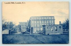 RHODE ISLAND LONSDALE MILLS DIVIDED BACK POSTCARD PUBLISHED CIRCA 1910 $24.99