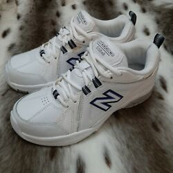 New Balance 608v3 Womens Shoes Size 9D Wide White Cross Trainers WX608V3W $29.99