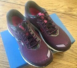 NEW Brooks Ghost 12 Women#x27;s Running Shoes Pink Black Size 8M $119.99