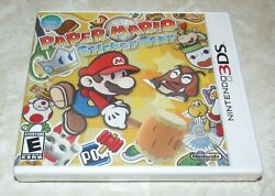 Paper Mario: Sticker Star for Nintendo 3DS Brand New Fast Shipping $29.95