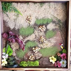 Zen wall art great for gifts for living spaces or bedroom office 13x13x2.75inch $75.00