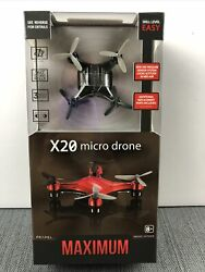 PROPEL X20 Micro Drone Maximumup amp; Away20 MPH amp; Can Manage Challenging Weather $10.99