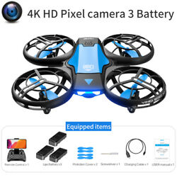 4DRC V8 Mini Drone Easy to Fly Drone for Kids and Beginners RC 3 battery $36.90