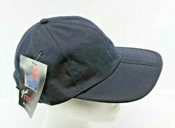 Dark Blue Foldable Cap by quot;Just Tuk itquot; Strap Back Foldable Bill $9.95