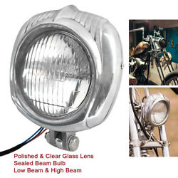 Motorcycle Headlight Vintage Lamp Sealed Beam For Harley Dyna Sportster Chopper $46.38