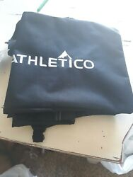 NEW ATHLETICO Adjustable Ski Bag ONLY 13.75in x Up To 80in Black amp; White $10.00