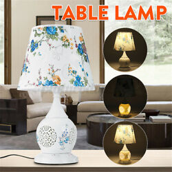 Chinese Style Ceramic Table Lamp Classical Household Bedroom Lamps Living Room $81.99